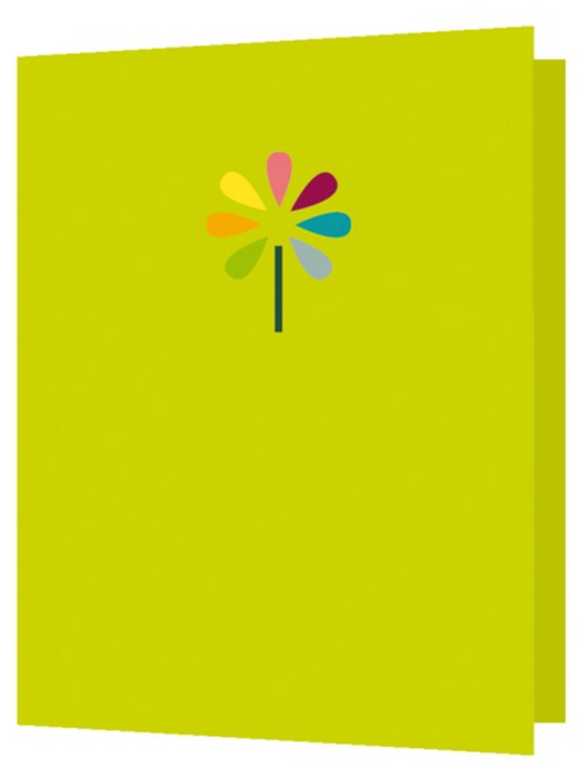 Flower, Bright New Things Mini Card, BNT17