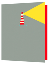 Lighthouse, Bright New Things Mini Card, BNT29