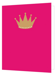 Queen Crown, Bright New Things Mini Card, BNT58