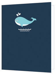 Whale, Bright New Things Mini Card, BNT48
