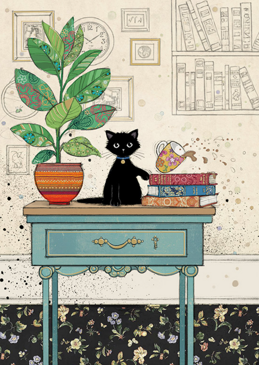 Table Kitty by Jane Crowther H033