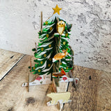 Christmas Conifer Pop and Slot Mini Festive Scene