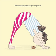 Downward - facing doughnut, Gin and Frolics GF139