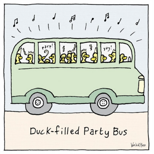 Duck Filled Party Bus, World Of Moose 442278