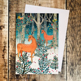 Magnificent Deer Mini Advent Calendar Card