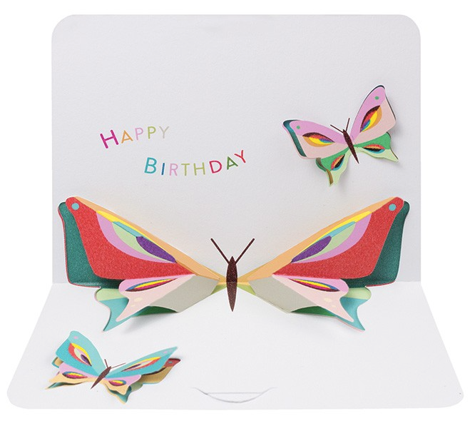 Birthday Butterfly by Form, The Art File