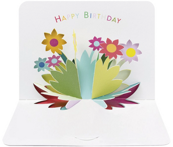 Birthday Flowers by Form, The Art File