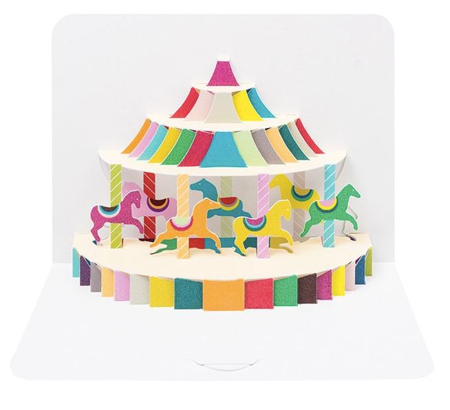 Fairground Carousel by Form, The Art File