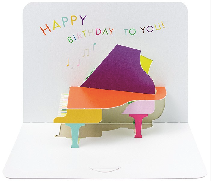 Birthday Piano by Form, The Art File