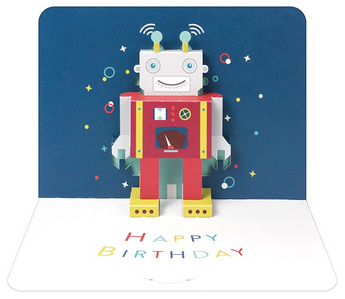 Birthday Robot by Form, The Art File