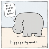 Hippopotty mouth, World of Moose 442254