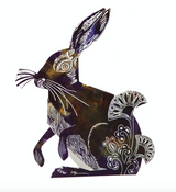 3D Hare by Printmaker Judy Lumley