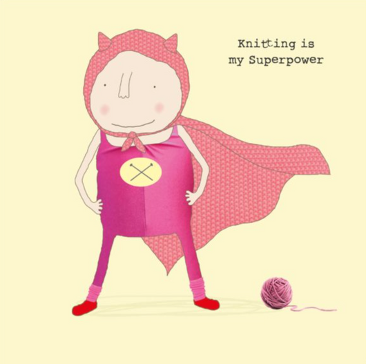 Knitting superpower, Gin and Frolics GF241