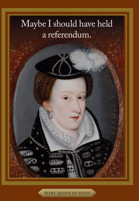 Mary Queen of Scots, History Notes, HN1458