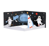 Happy Birthday Space 3D Concertina Card