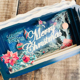 Message in a Bottle 3D Card Merry Christmas XMIB041