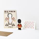 Palace Guard Pop Out Decoration and Card