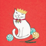 I Love Christmas Cat, Una Joy Christmas Charity Pack (Eight Cards) WX808*