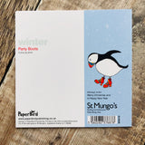 Paper Bird Puffin Party Boots, Una Joy Christmas Charity Pack (Eight Cards) WX579*