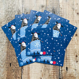 Winter Woolly, Una Joy Christmas Charity Pack (Eight Cards) WX565*