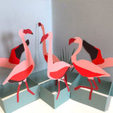 Pop Up 3D Flamingo Card by Two To Tango
