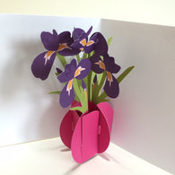 Pop Up 3D Iris Card by Two To Tango