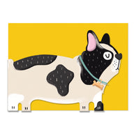 Die Cut French Bulldog, Pawsome PAW02