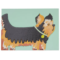 Die Cut Yorkshire Terrier Dog, Pawsome PAW15