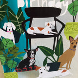 Dog Palais Lasercut, Anne Bentley GC2073