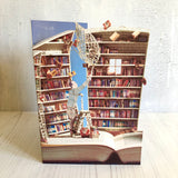 The Book Collector - Scissors Paper Tree Lasercut Card GC2069