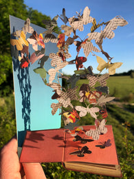 Butterflies - Scissors Paper Tree Lasercut Card GC2091