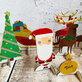 Santa and his Reindeer Mini Pop and Slot Scene