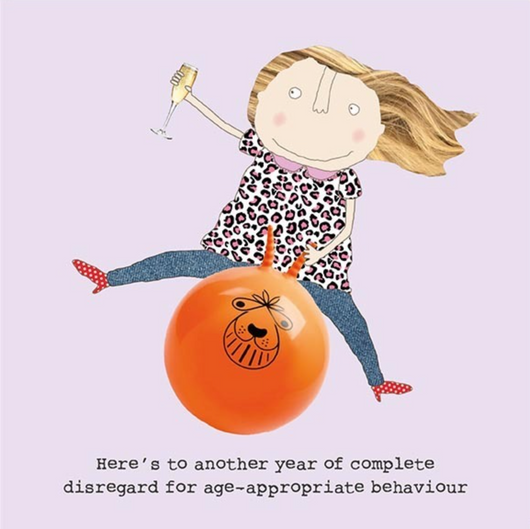 Age appropriate behaviour, Gin and Frolics GF169