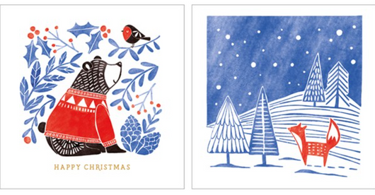 Nordic Christmas Pack (Ten Cards) WAX47