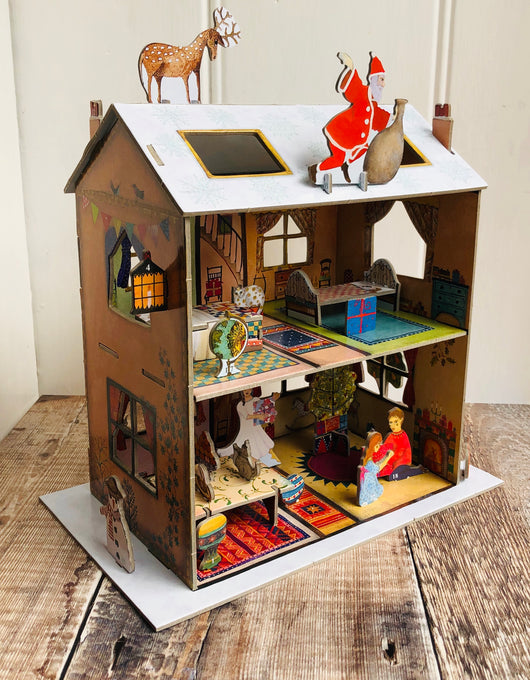 The Night Before Christmas Dolls House Pop and Slot Advent Calendar