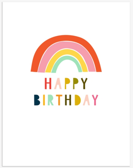 Happy Birthday Rainbow, Jot 120