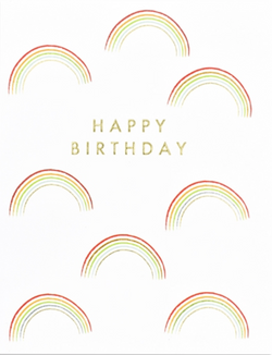 Rainbow Happy Birthday, Jot 108