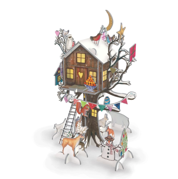 Christmas Treehouse Pop and Slot Advent Calendar