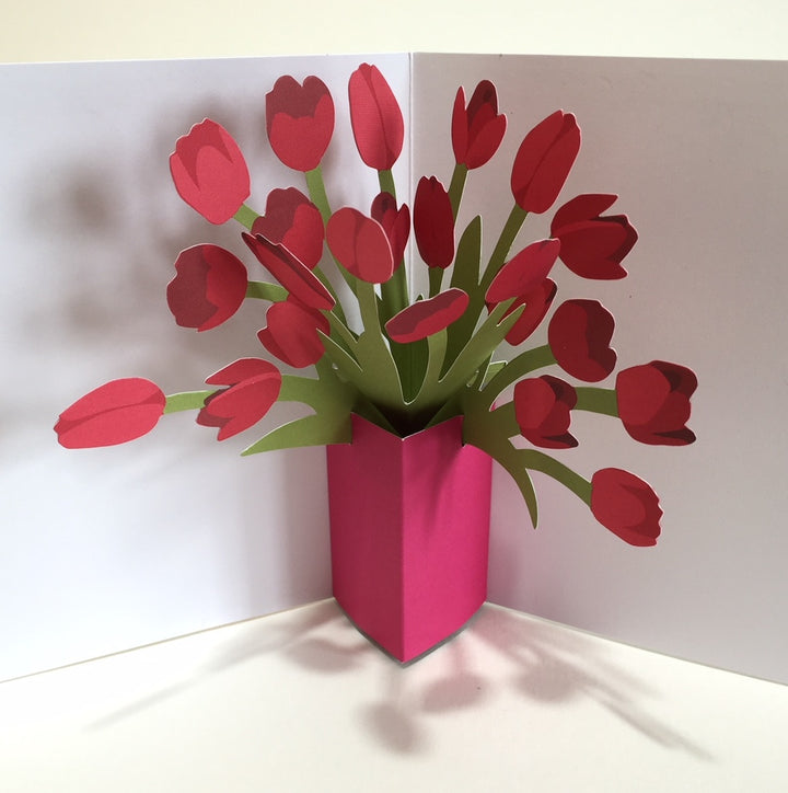 Pop Up Tulip Card by Two To Tango