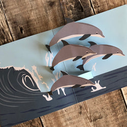 Pop Up 3D Dolphin Card by Two To Tango