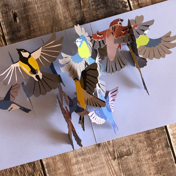 Pop Up 3D Bird Card by Two To Tango