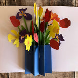 Pop Up Mixed Spring Bouquet Card by Two To Tango