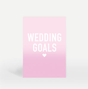 Wedding Goals Notebook