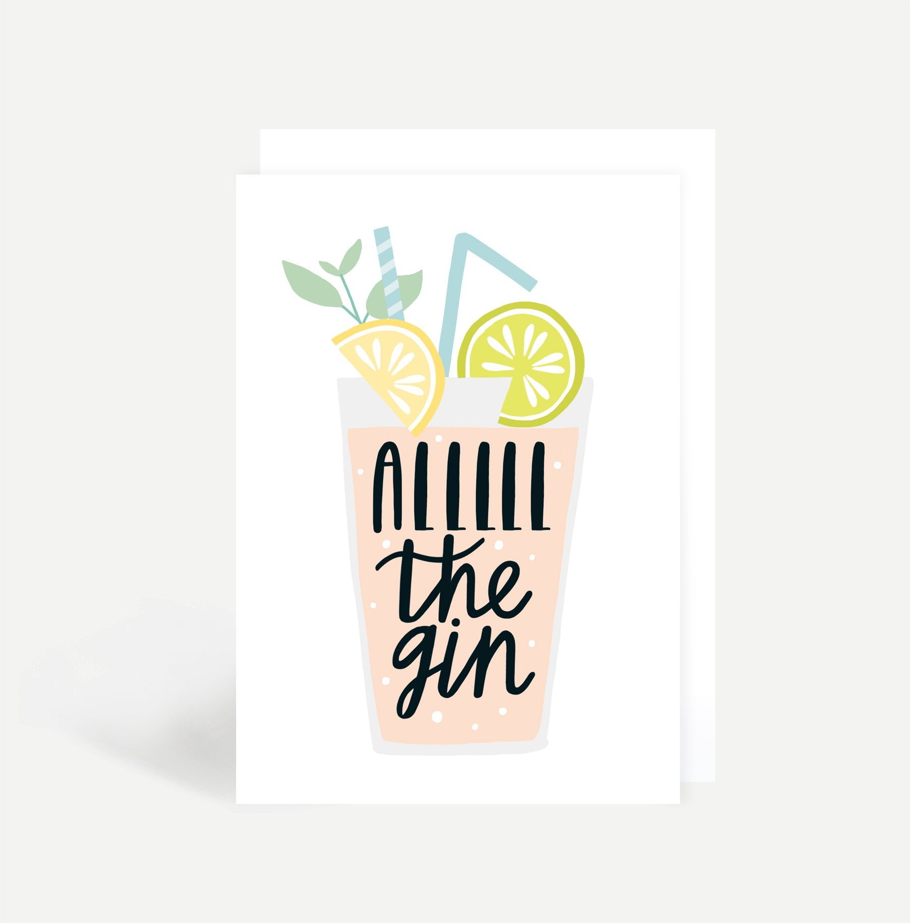 All The Gin Card