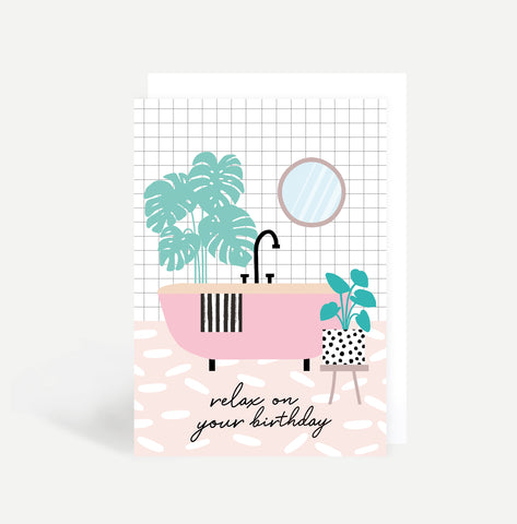 Birthday Bath Card