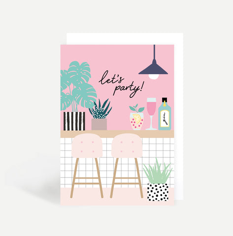 Bar Greetings Card