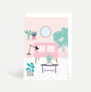 Lounge Greetings Card