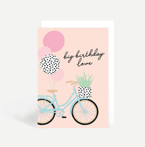 Bike Birthday Card