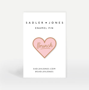 Brunch Enamel Pin