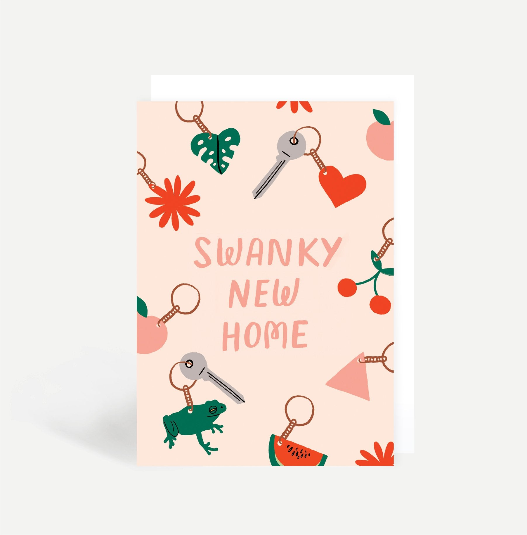 Swanky New Home Greetings Card